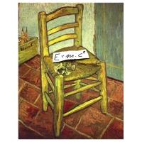 Géza Halász - Vincent van Gogh - Albert Einstein