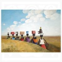 Pavel Matuška: Cesta z města-vzpomínka na Mali