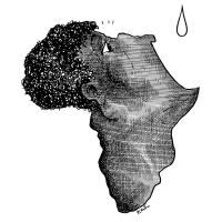 Plantu (FR) - 1983-12-11et12-Carte Afrique-Le Monde