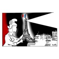 Plantu (FR) - 2015-11-15-Et-16-Attentats-Le Monde