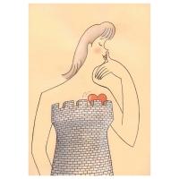 Marie Plotěná - Ilustrácia ku knihe Prísloví
