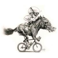 David Pugliese - Kôň cyklista