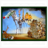 Willem Rasing - Myši podľa Dalího