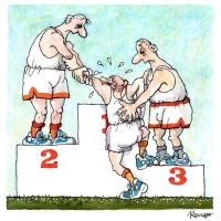 Robert Rousso - Stupeň víťazov