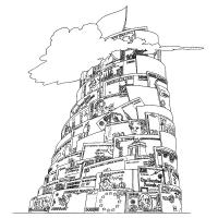 Haroutiun Samuelian - Babylonská veža