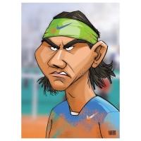 Gatis Sluka -.Rafael Nadal