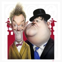 Achille Superbi-Laurel a Hardy