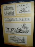 STM - Vlakom, autom i raketou