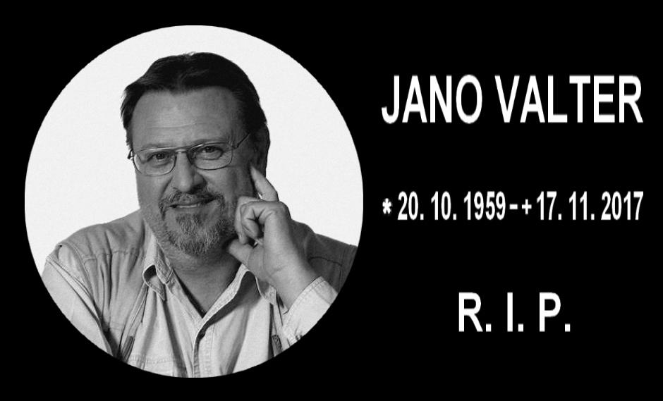Jano Valter RIP-t