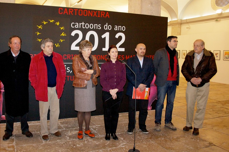 Inauguracion de Cartoon Xira 2013