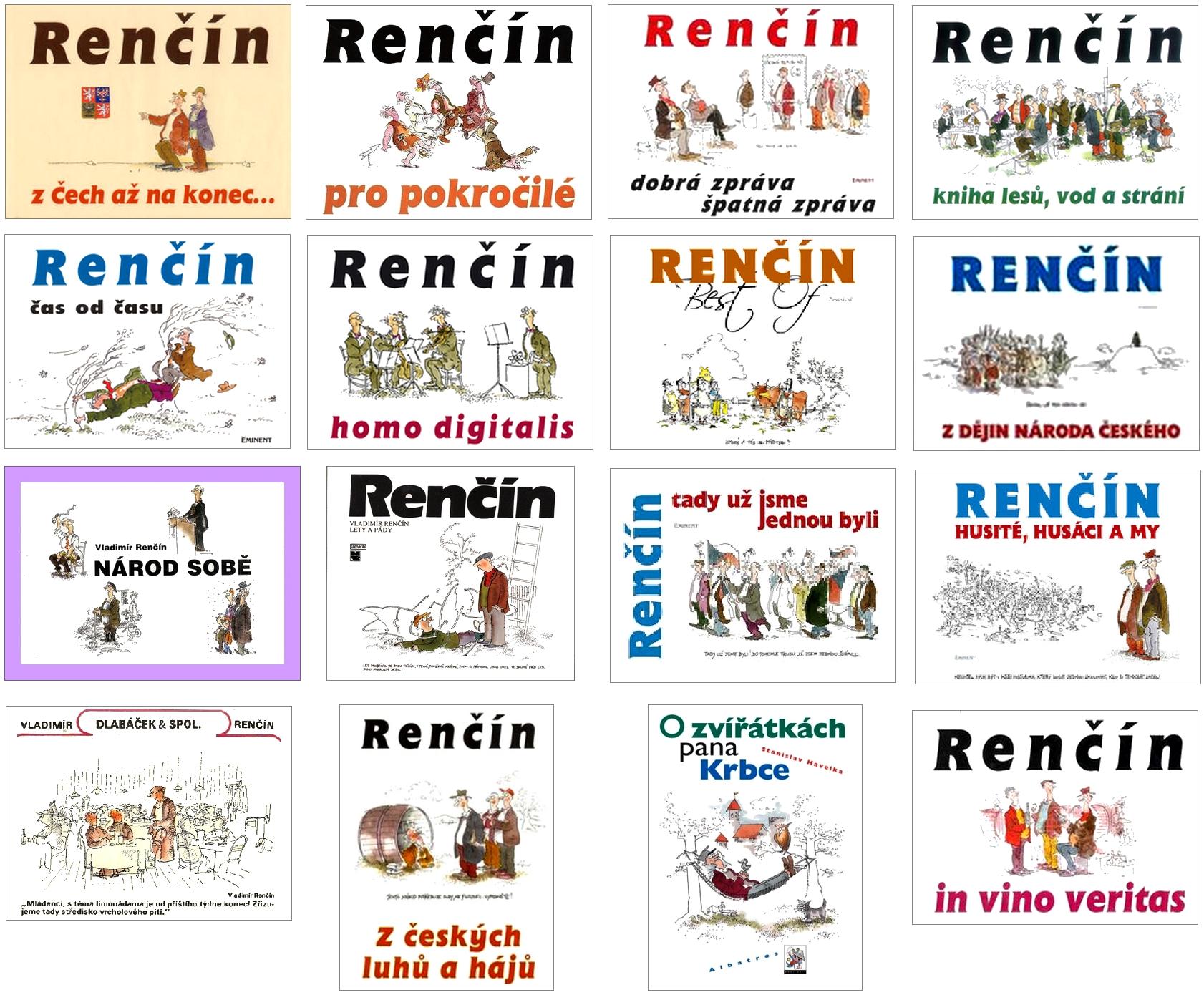 Rencin-knihy