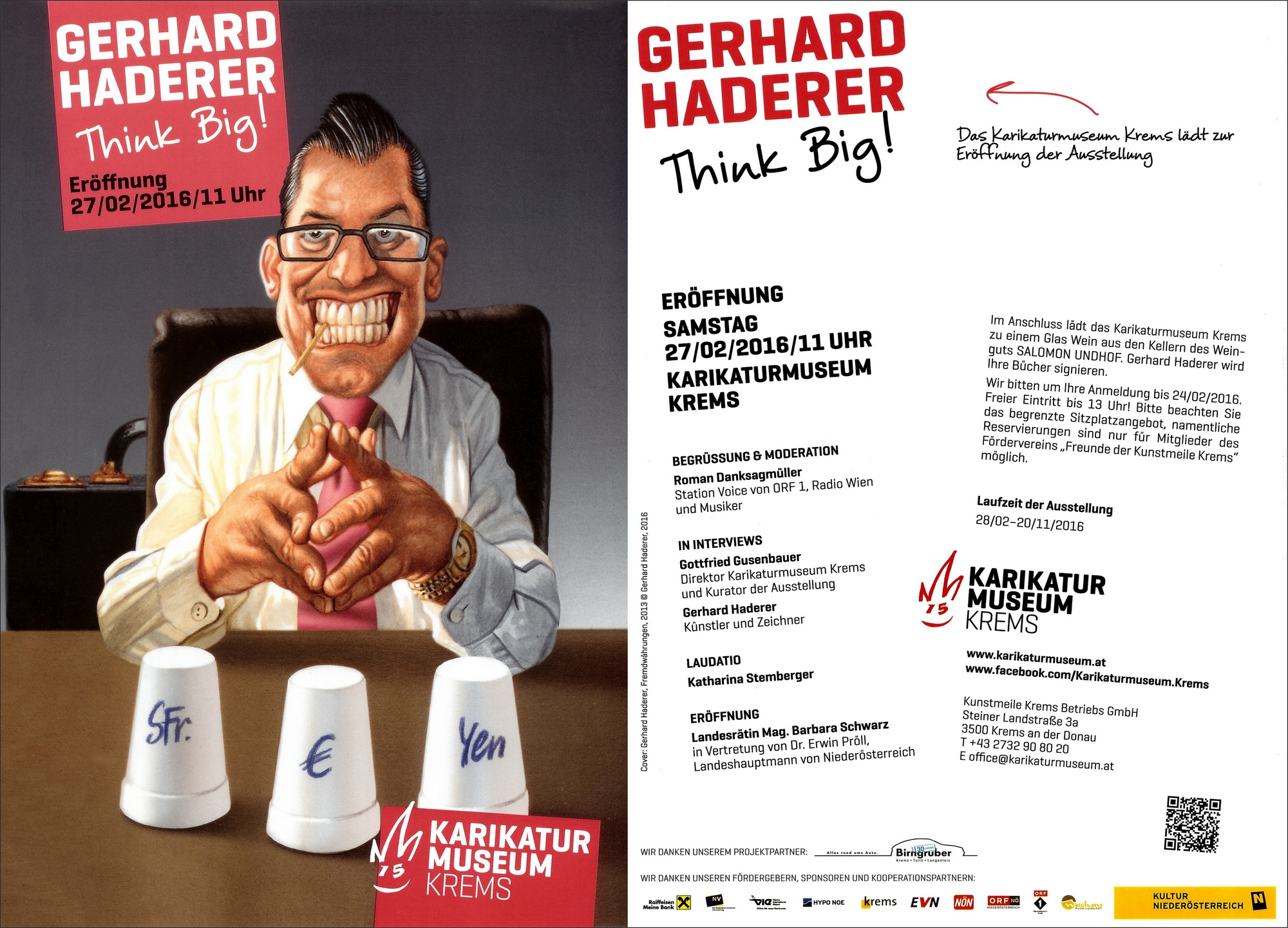 Gerhard Haderer: Think Big !