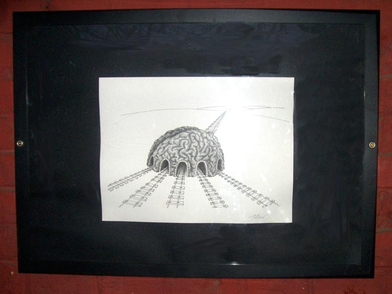 Kresba Laca Tormu