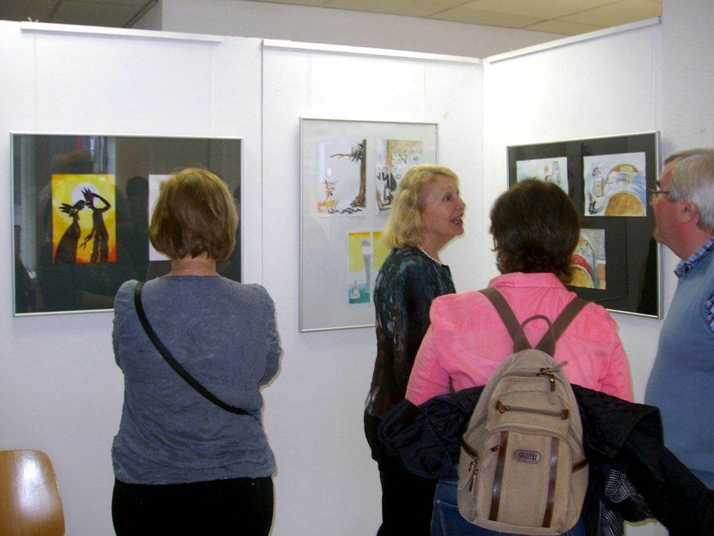 Prehliadka výstavy