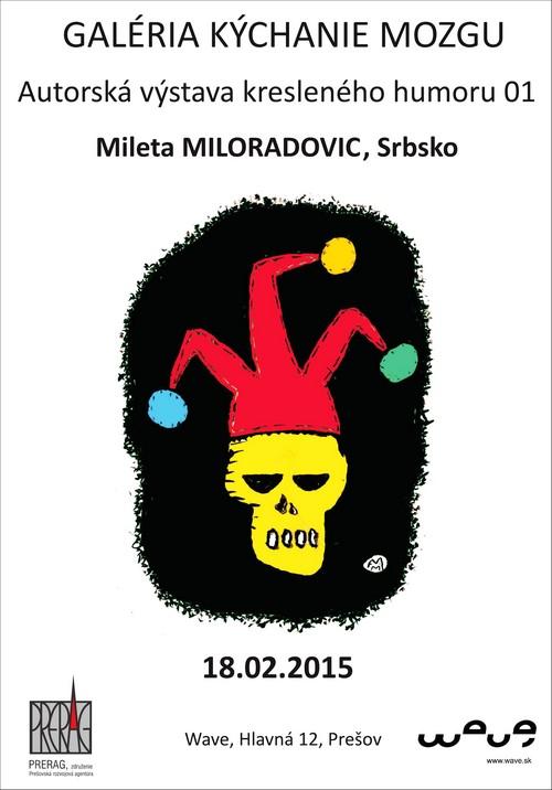 Plagát - Mileta Miloradović