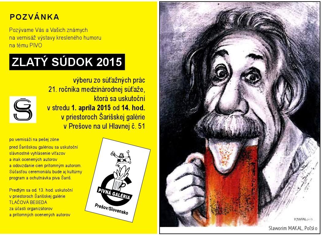 Zlatý súdok 2015, Prešov