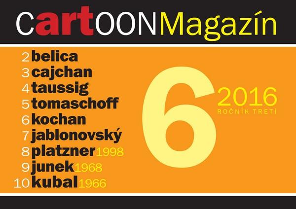 CartOONmagazín 6/2016