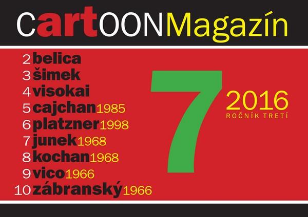 CartOONMagazín 7-2016