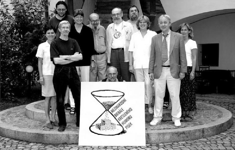 Bienále Pisek 2003-porota