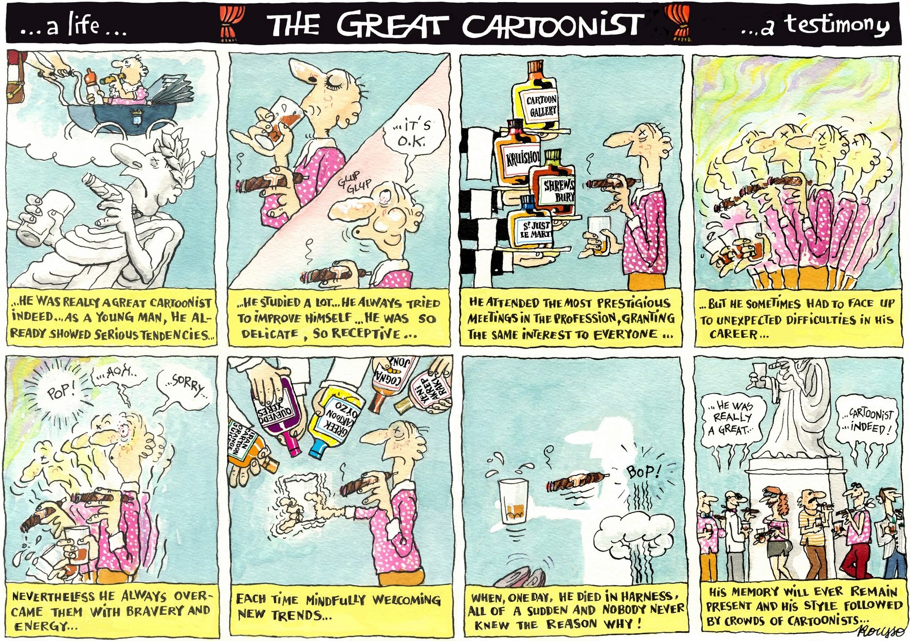 Robert Rousso-The Great Cartoonist