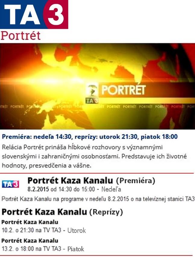 Portrét Kaza Kanalu