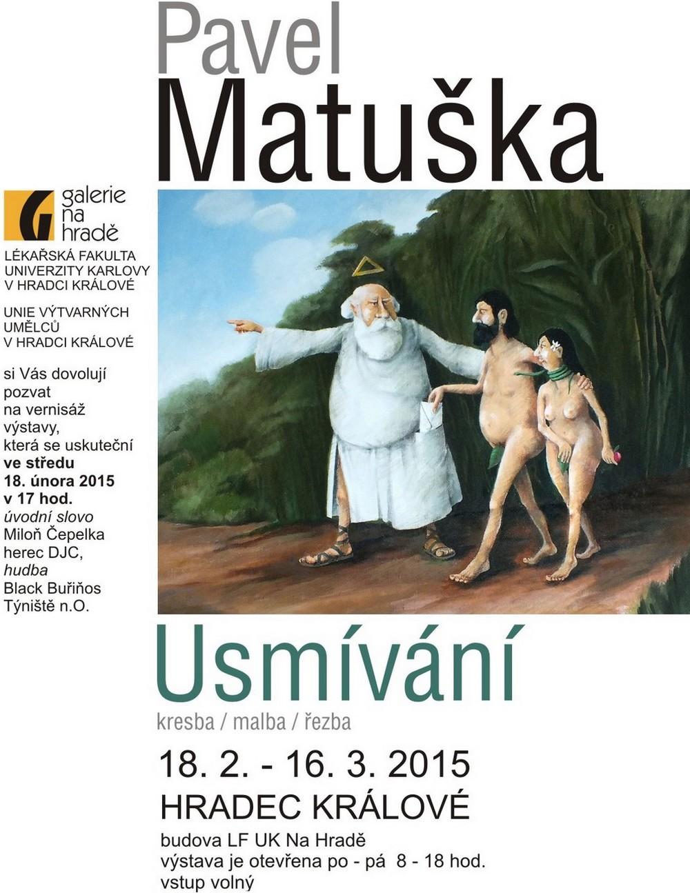 Pavel Matuška na hrade