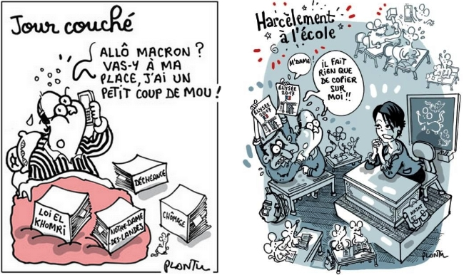 cartoons 2 by Plantu