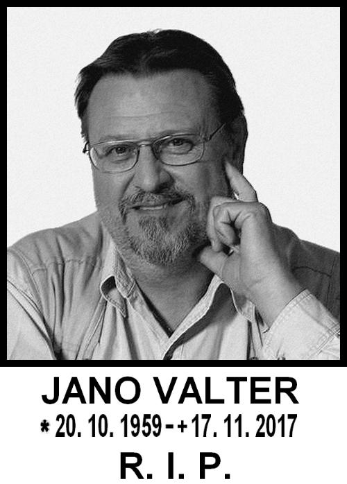 Jano Valter RIP