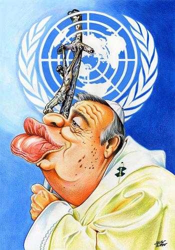 XIXPortoCartoon-_Antonio_Guterres-_1º_Premio-_Santiagu,_Portugal