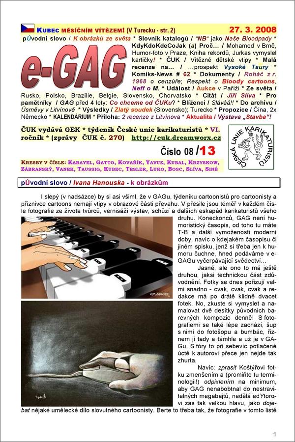e-GAG 2008-13